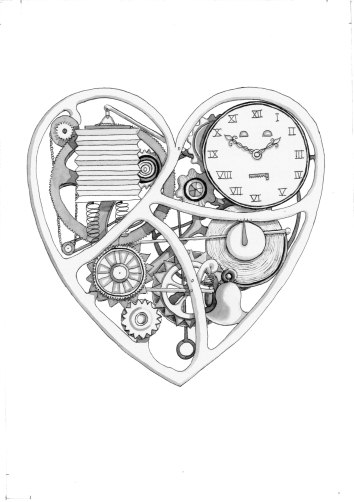 Heart | An illustration for a book of short stories collected by Colin Beazley.