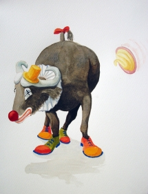 Buffalo Clown