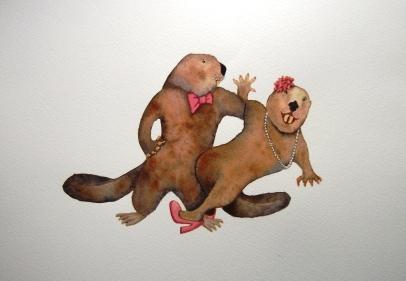 Dancing Beavers