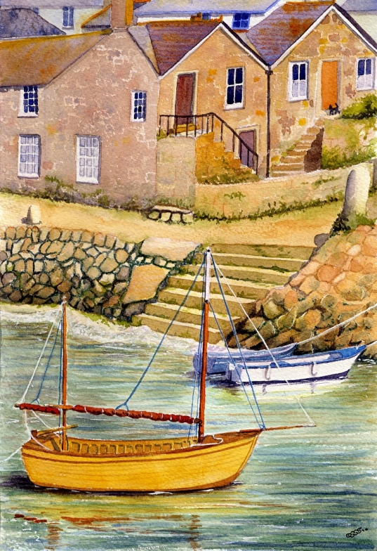 Mousehole stepsm